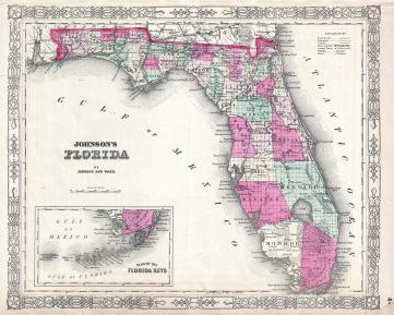 1864_Johnson_Map_of_Florida_-_Geographicus_-_Florida-johnson-1864